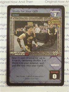 Raw Deal WWE SS2 Eddie Guerrero Study for Your GED