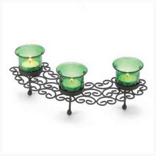 emerald green. Just add candles to create a subtly romantic scene