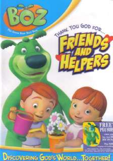 NEW Sealed Christian Kids DVD BOZ Thank You God for Friends and