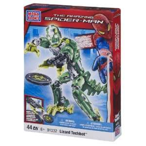 Mega Bloks Lizard Man Techbot Toys & Games