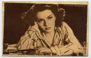 bb887 Viviane Romance French film actress France star