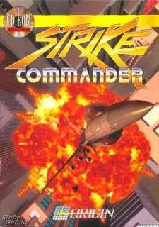 Strike Commander Gold PC CD classic combat flight simulator game + add
