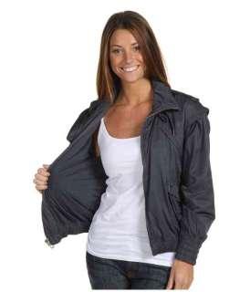 adidas Womens Stella McCartney Core Jacket Darkslate Gray Tennis Coat