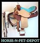 Tex Tan Barrel Saddle 14 3795 |