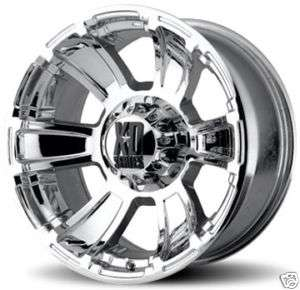 XD796 REVOLVER Chrome OFFROAD DODGE FORD Truck RIMS Wheels NITTO TIRES
