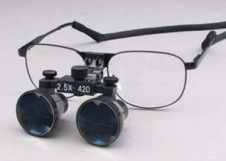 New Dental 2.5X Loupe binocular magnifier lens glasses Surgical
