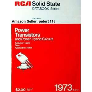 RCA Solid State SSD 204A Power Transistors and Power Hybrid Circuits