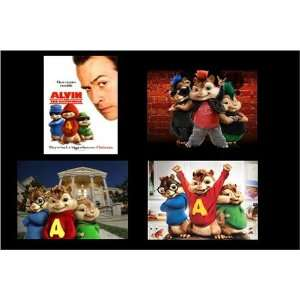 Alvin and the Chipmunks Movie Magnets, Set of Four